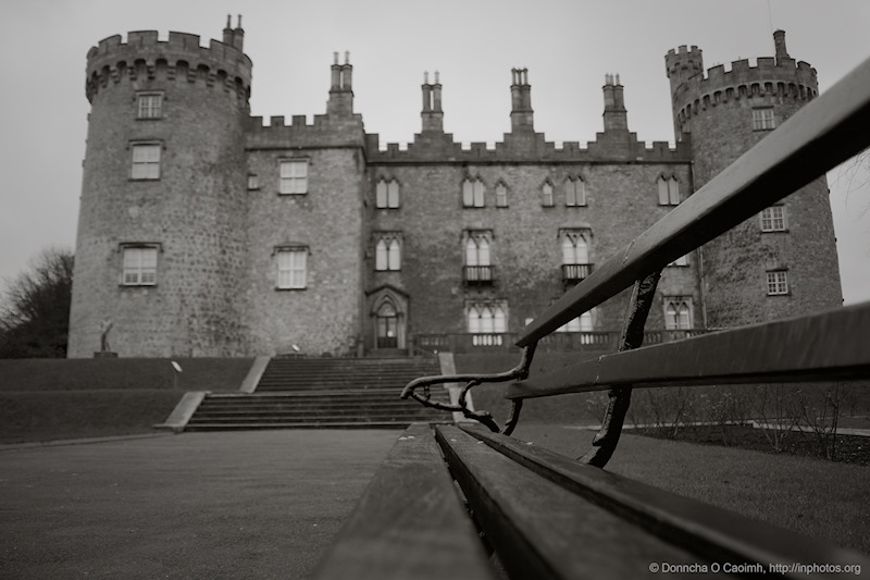 Kilkenny Castle and Bench