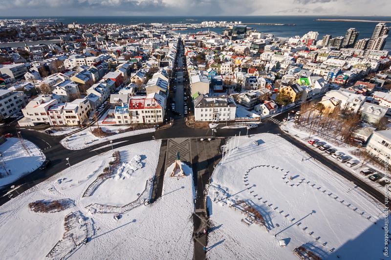 Reykjavík from High