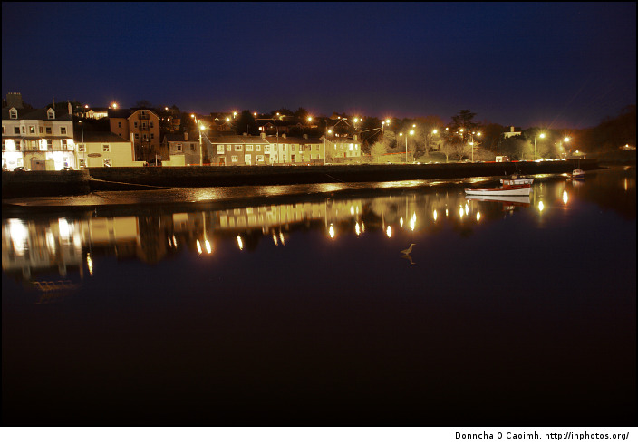 Kinsale at night