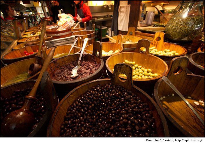 the olive stall