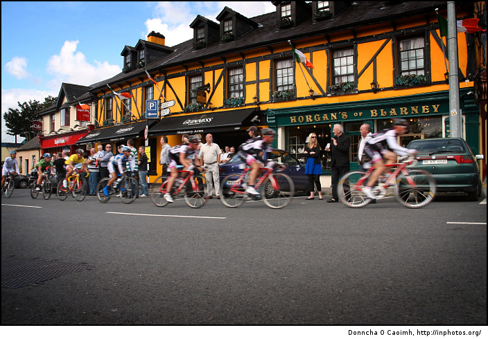 Tour of Ireland Riders in Blarney