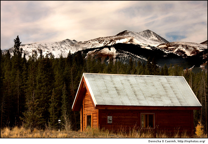 A Cabin in the Rockies