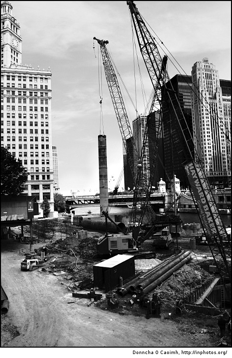 Construction in Chicago