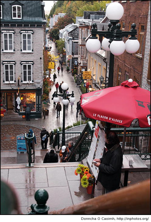 The Old Town of Quebec