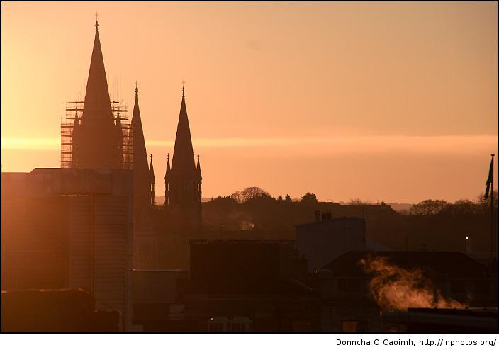 Saint Finbarres Sunset