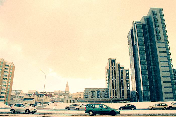 Derelict Reykjavik Highrises