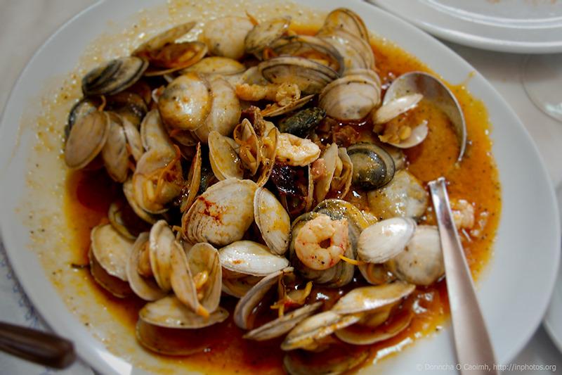Seafood at El Rincon del Chirri SL