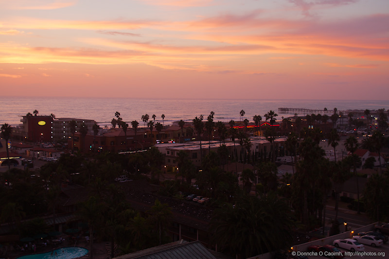 Beautiful Evening in San Diego