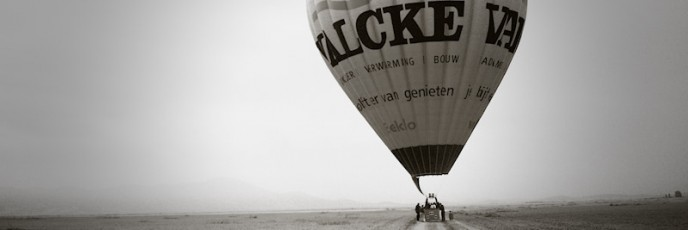 Hot Air Ballooning over Marrakech