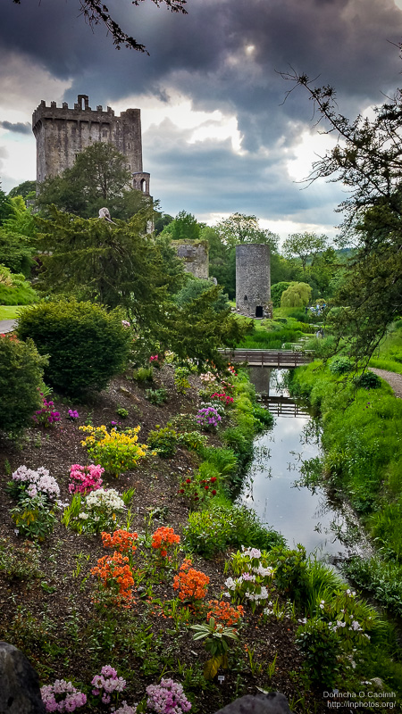 Blarney Castle in the Evening