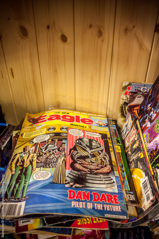 Dan Dare & The Eagle