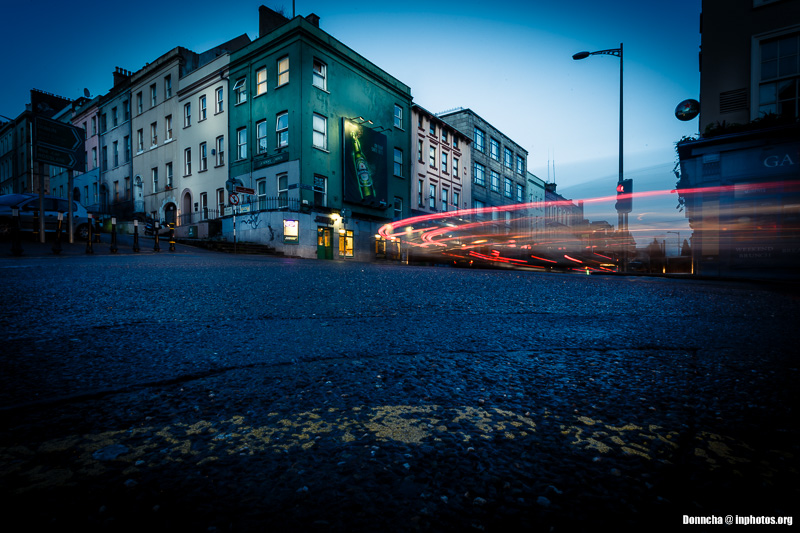 Light Streaks on MacCurtain Street