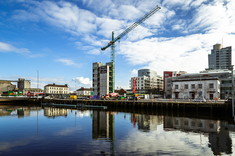 Construction of One Albert Quay