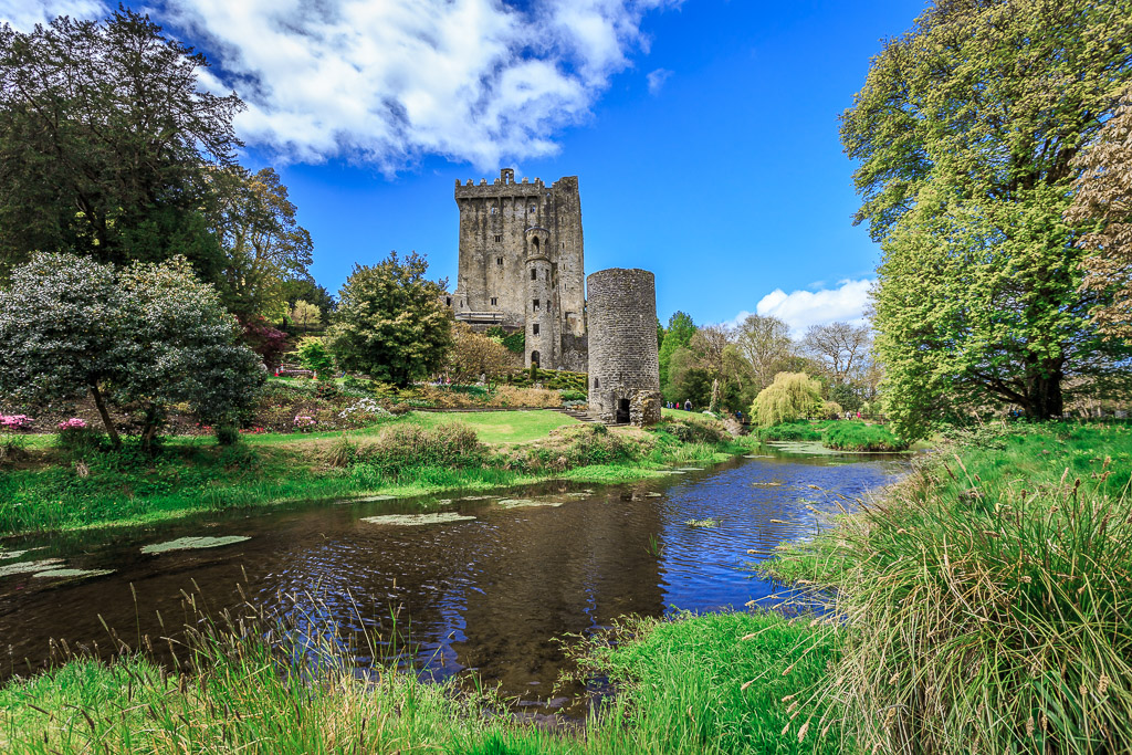 The green, green grass of Blarney Castle