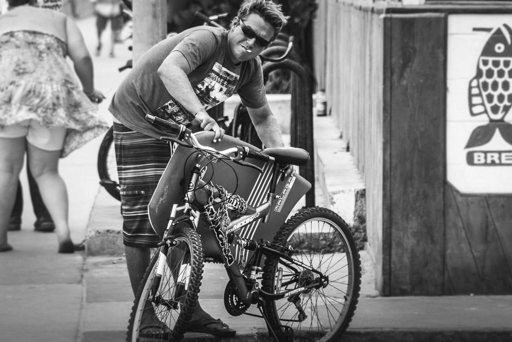 Biker? Surfer?