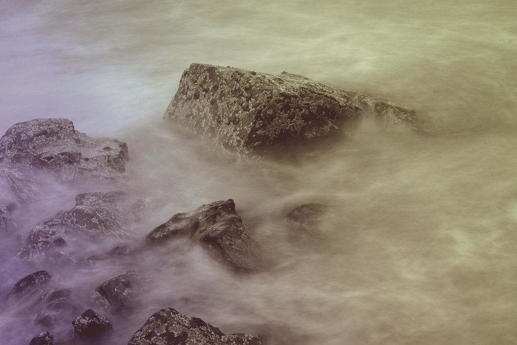 Water swirls at Myrtleville