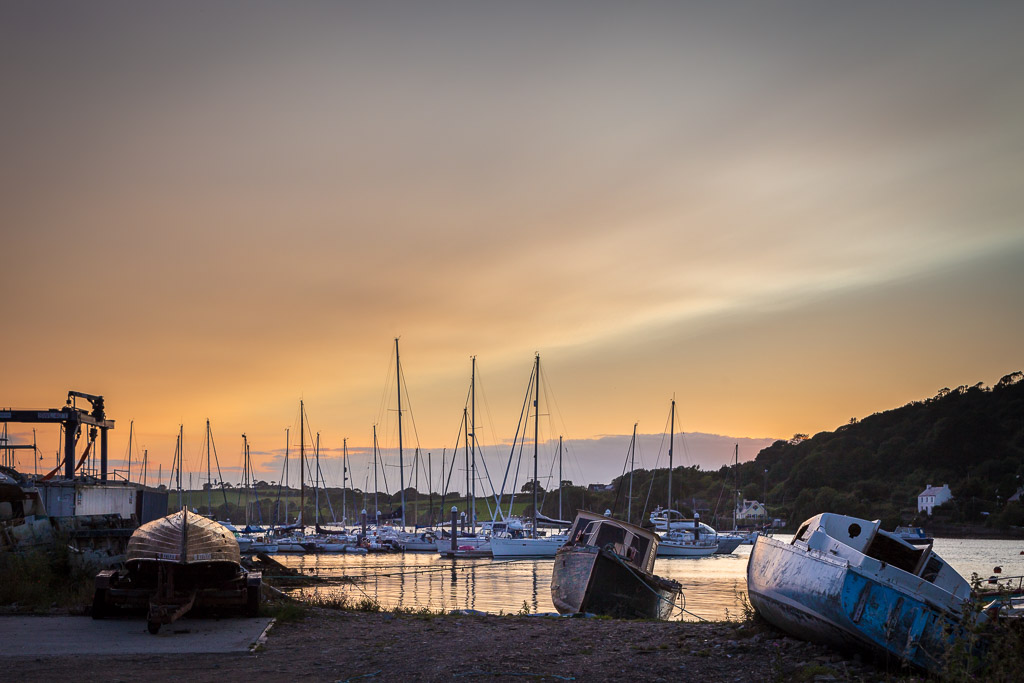 Crosshaven Boats Sunset