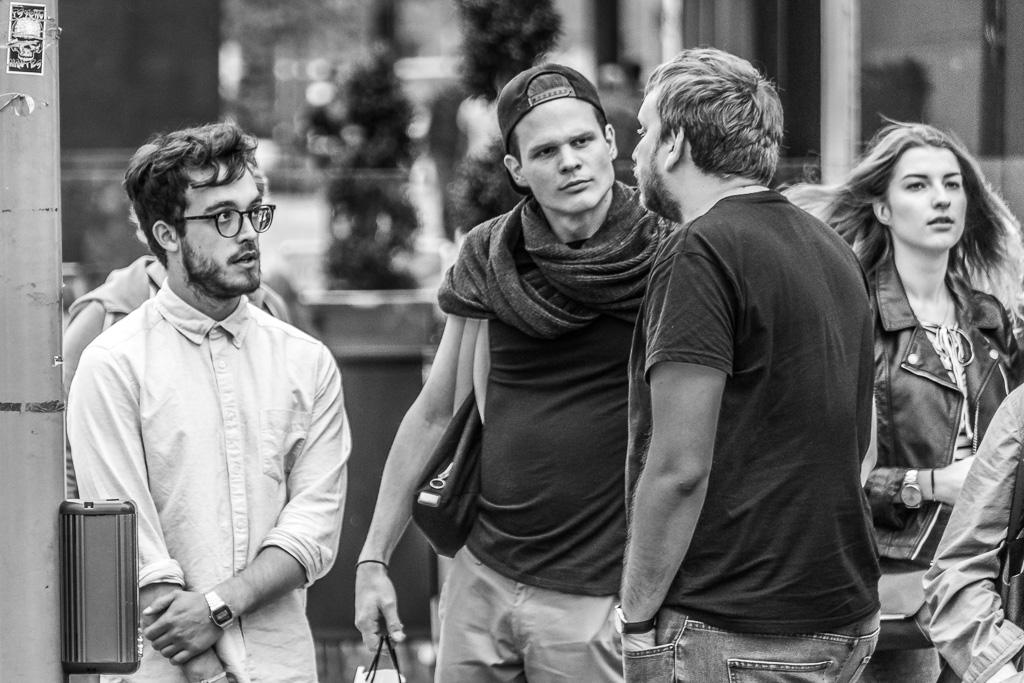 street-conversation