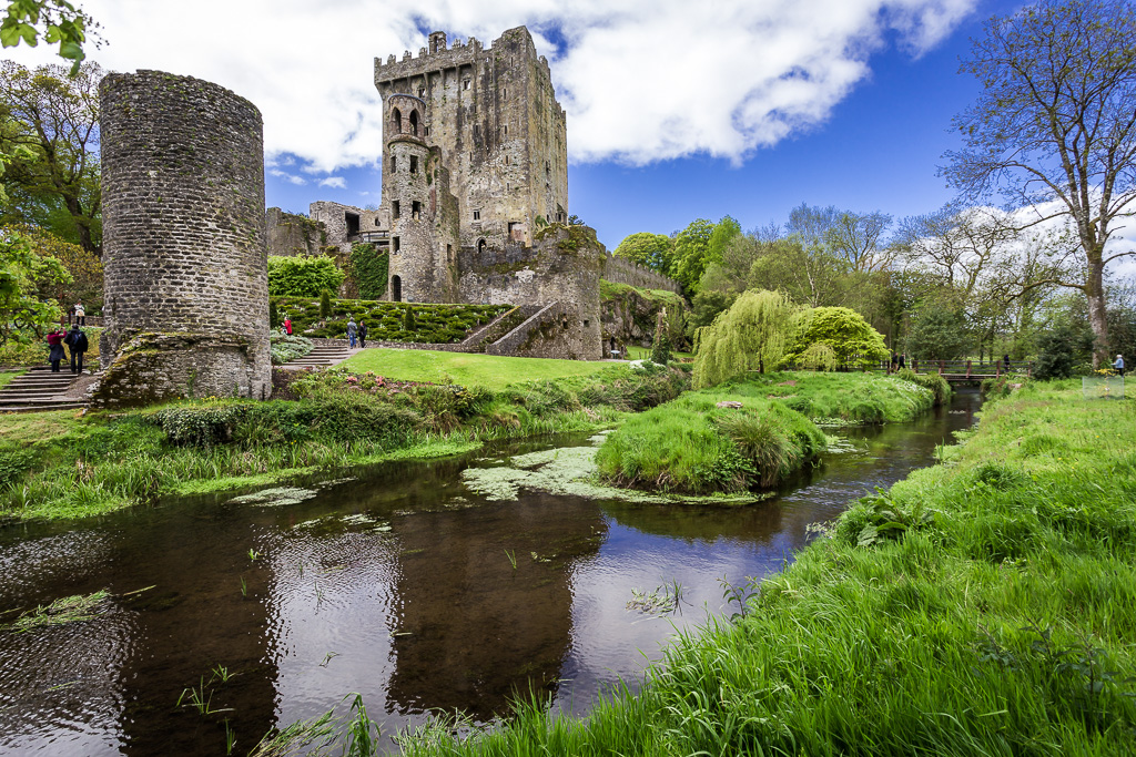 Blarney Castle in the Summer