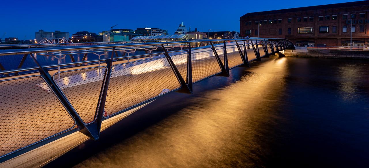 The Lights of The Mary Elmes Bridge