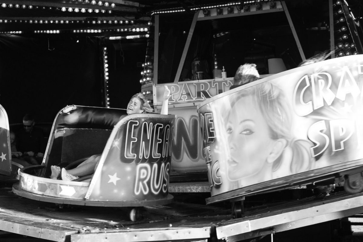 Waltzing at the fairground