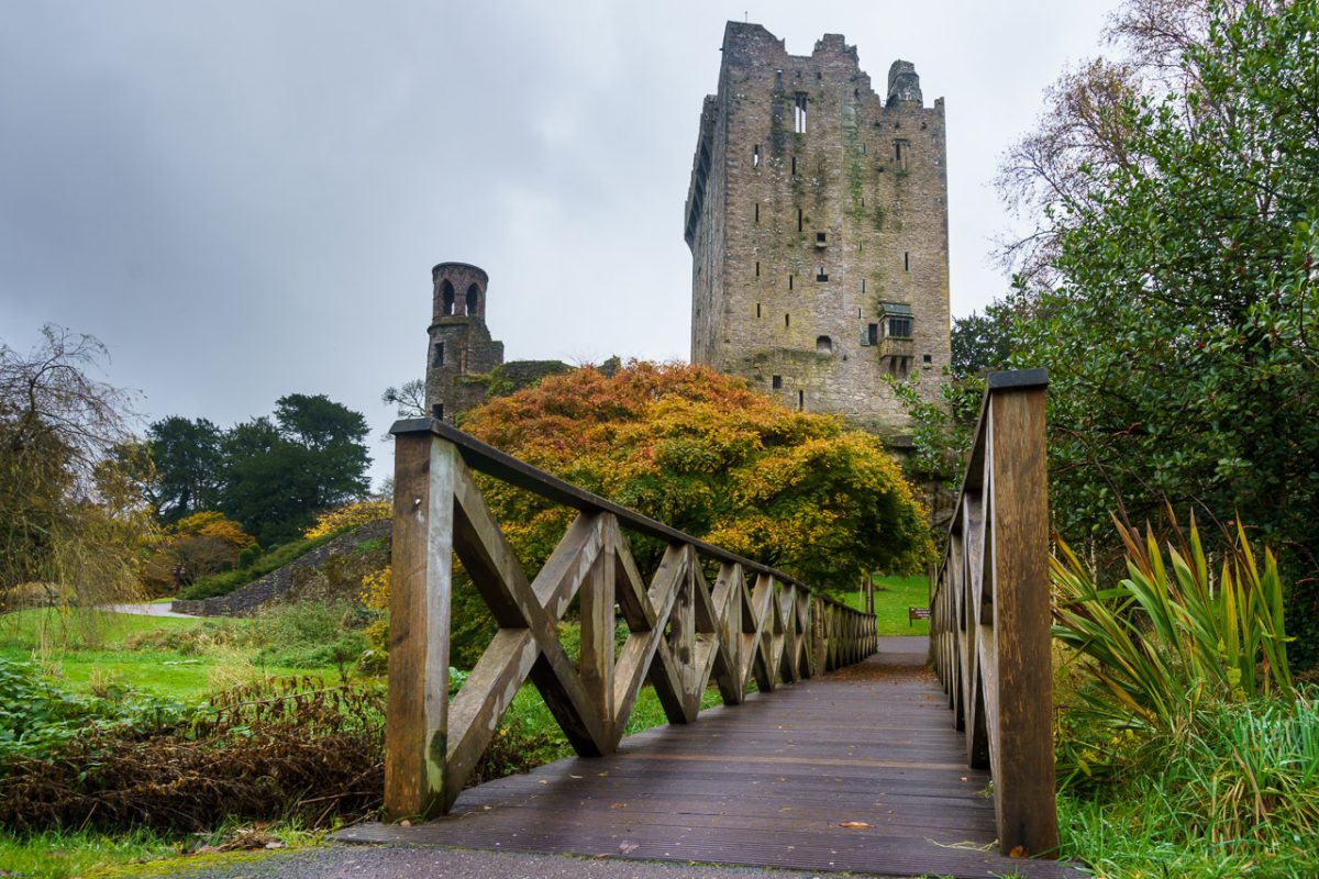 Blarney Castle in the Autumn