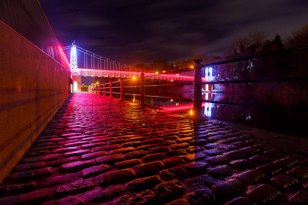 The red cobbles