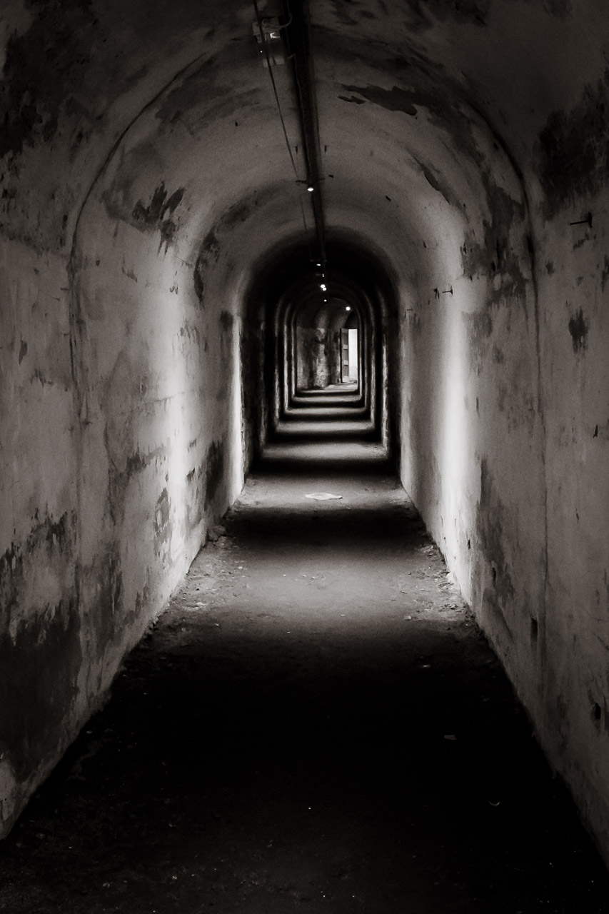 Deep inside Camden Fort