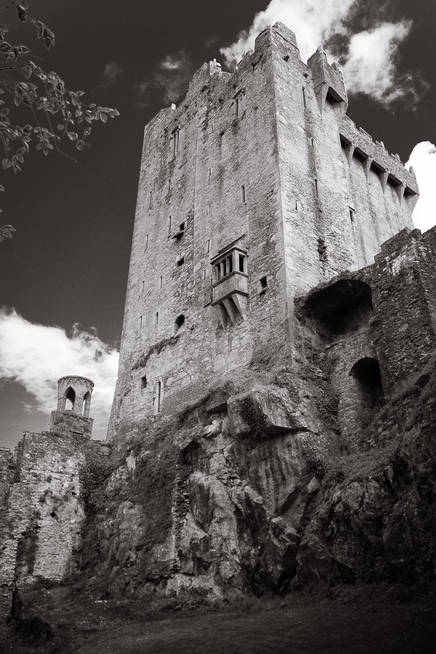 Blarney Castle From Below