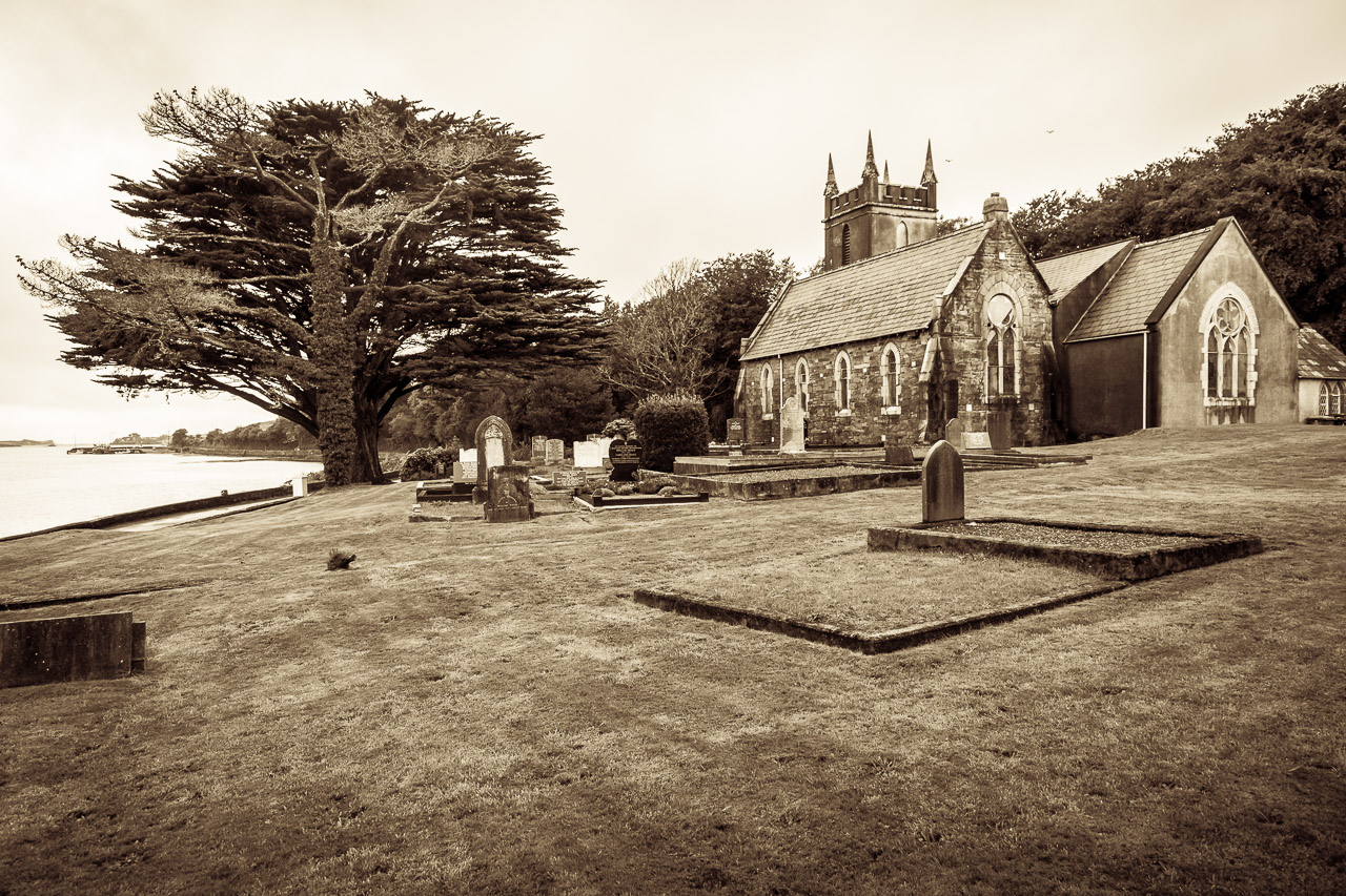 Alone at St James's Church, Durrus