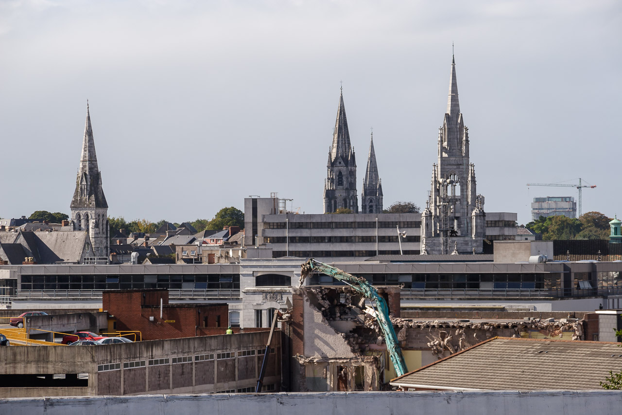 Three Spires of Cork City