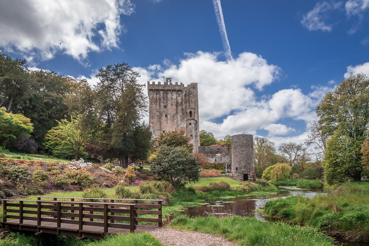 Blarney Castle on a Sunny Day