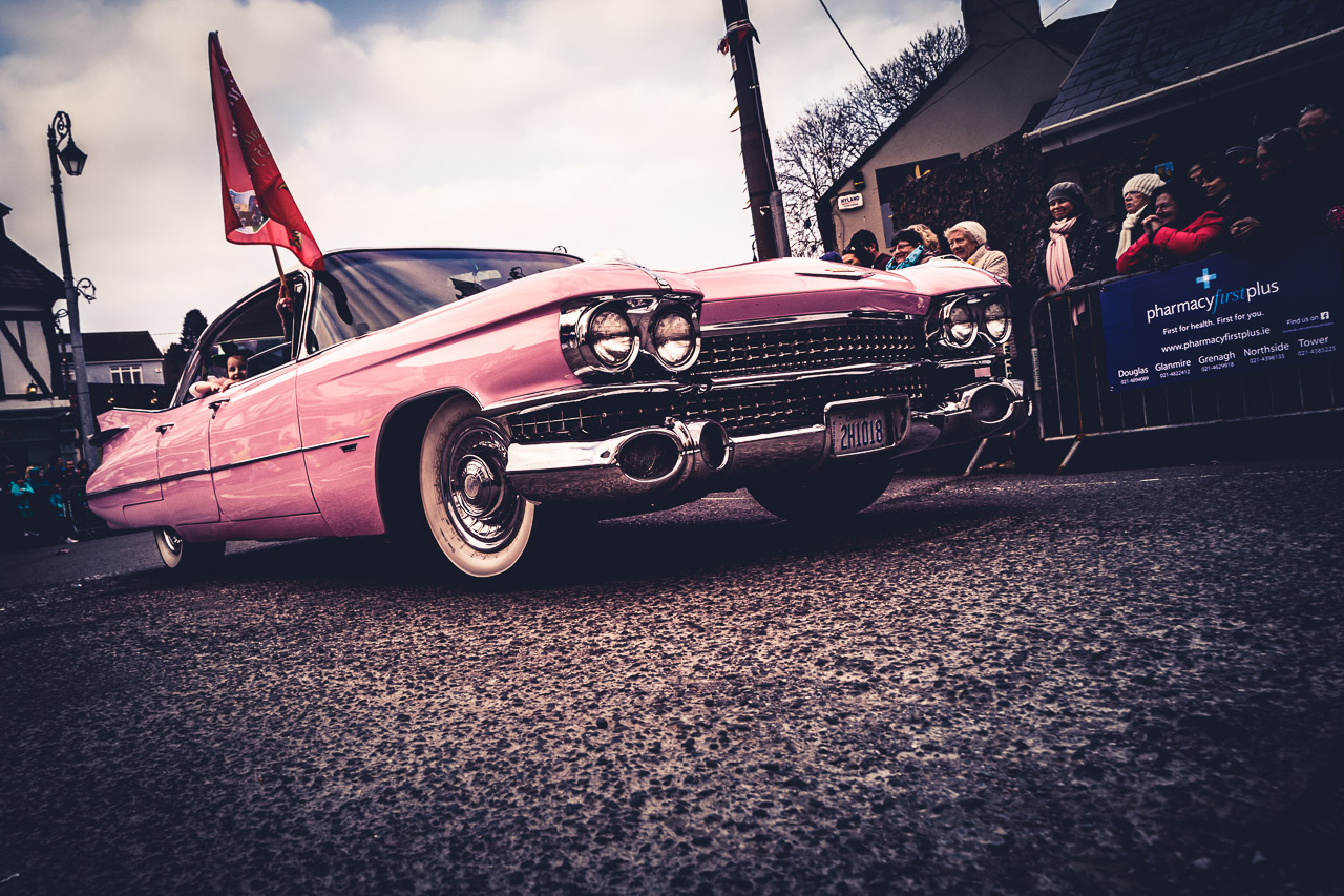 A Pink Cadillac in Blarney