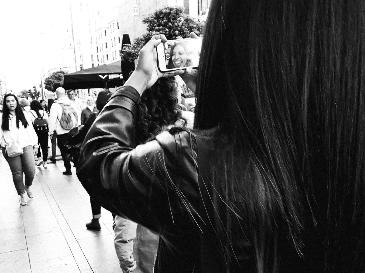 A Selfie in Madrid