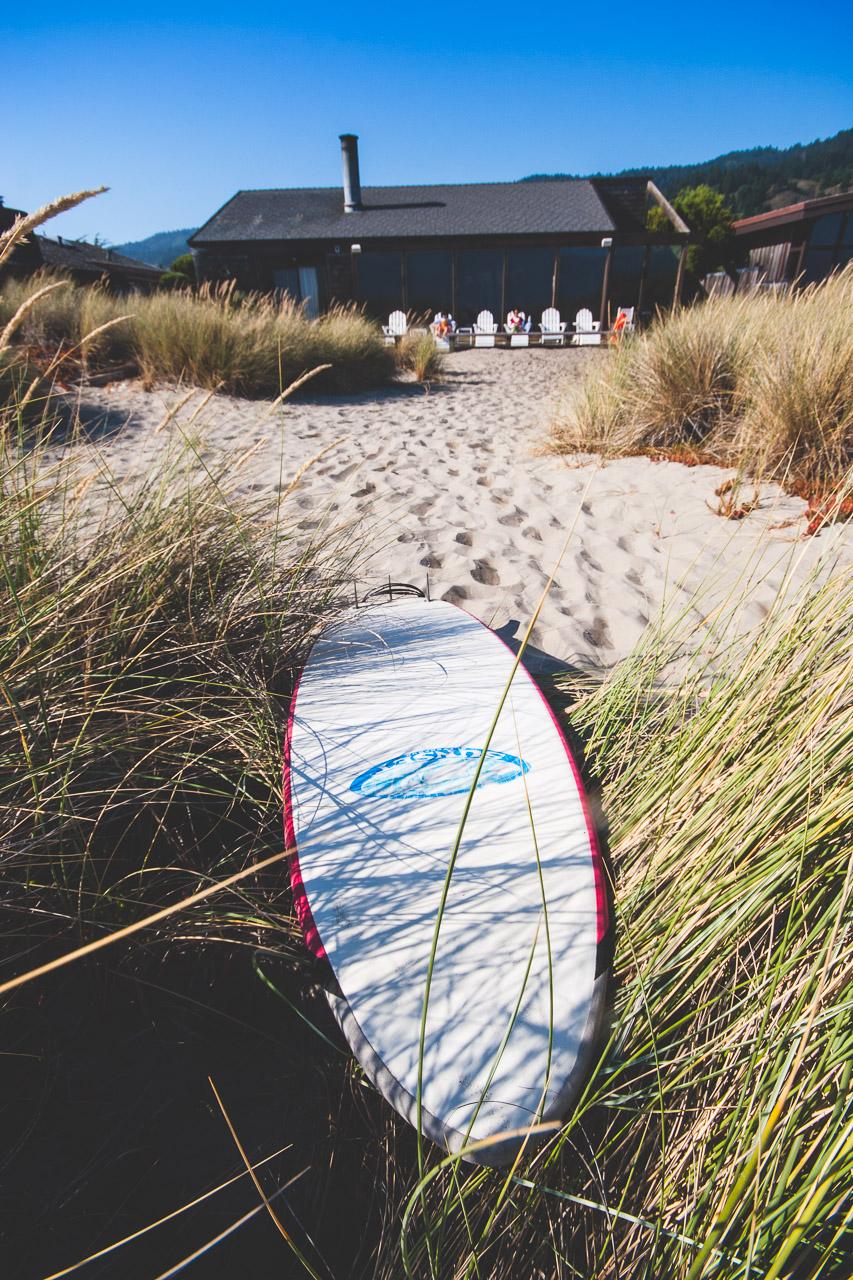Surfing at Stinson Beach