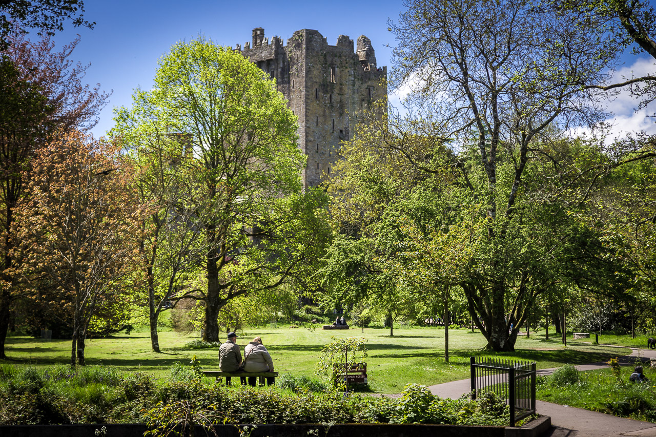 Blarney Castle in the Green