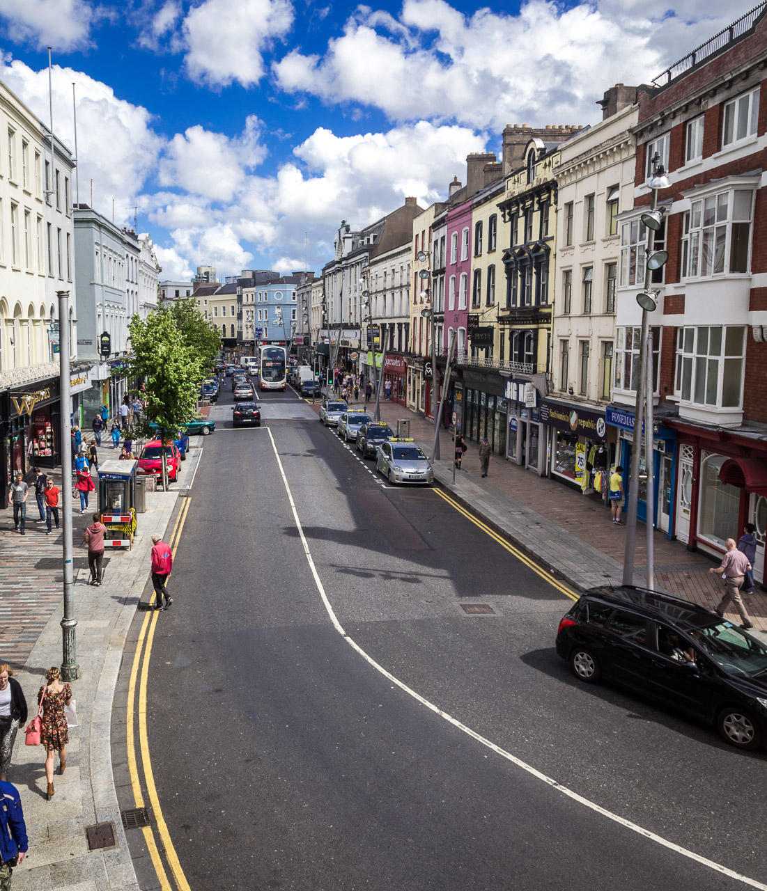 St. Patrick's Street in the Summer