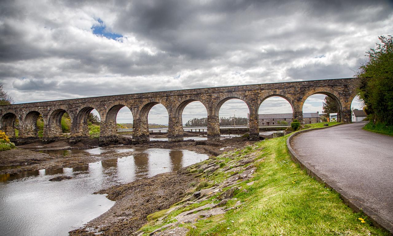 Ballydehob's 12 Arch Bridge