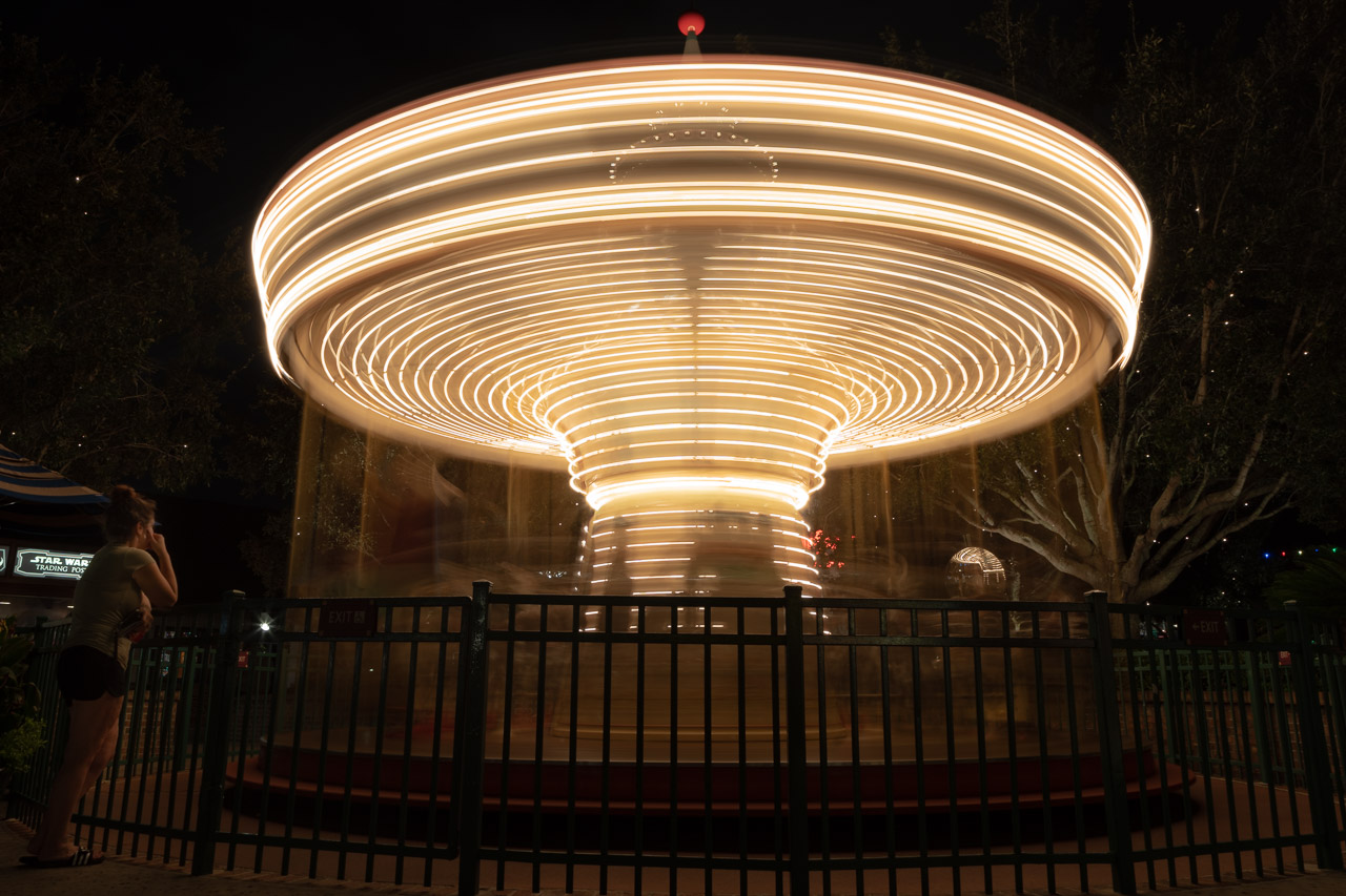 Spinning Around and Around