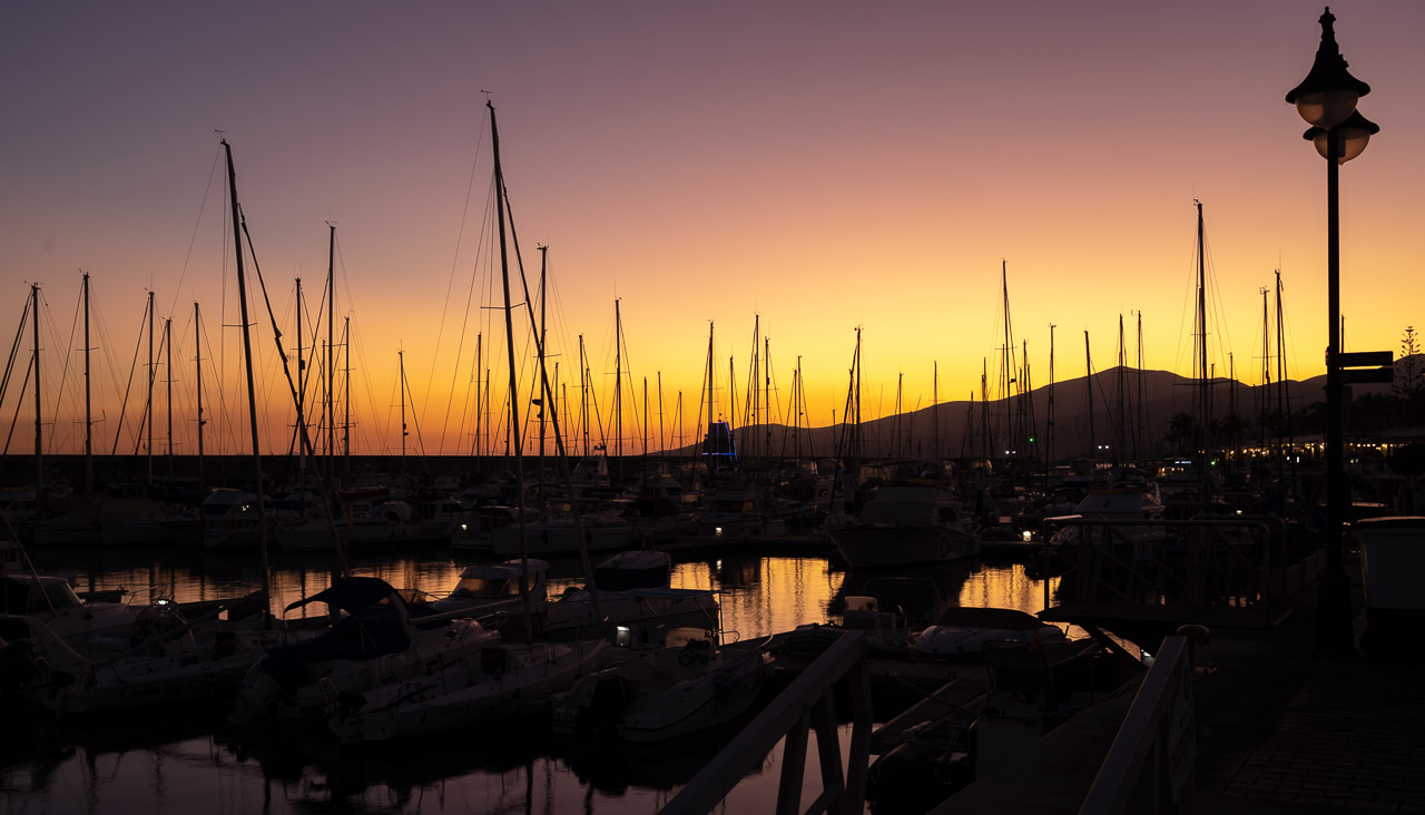 The Masts of Puerto Calero