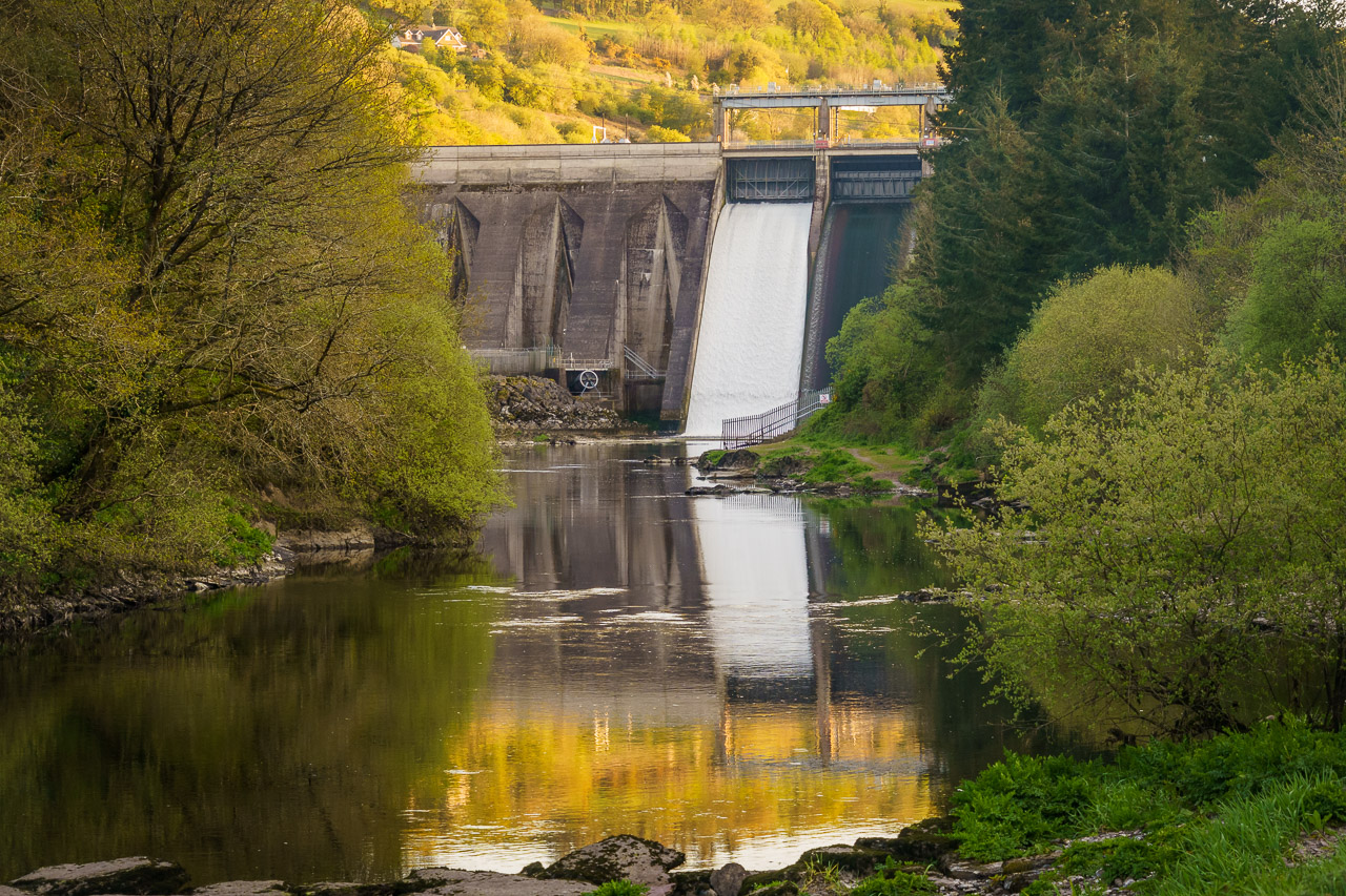 At the Inniscarra Dam
