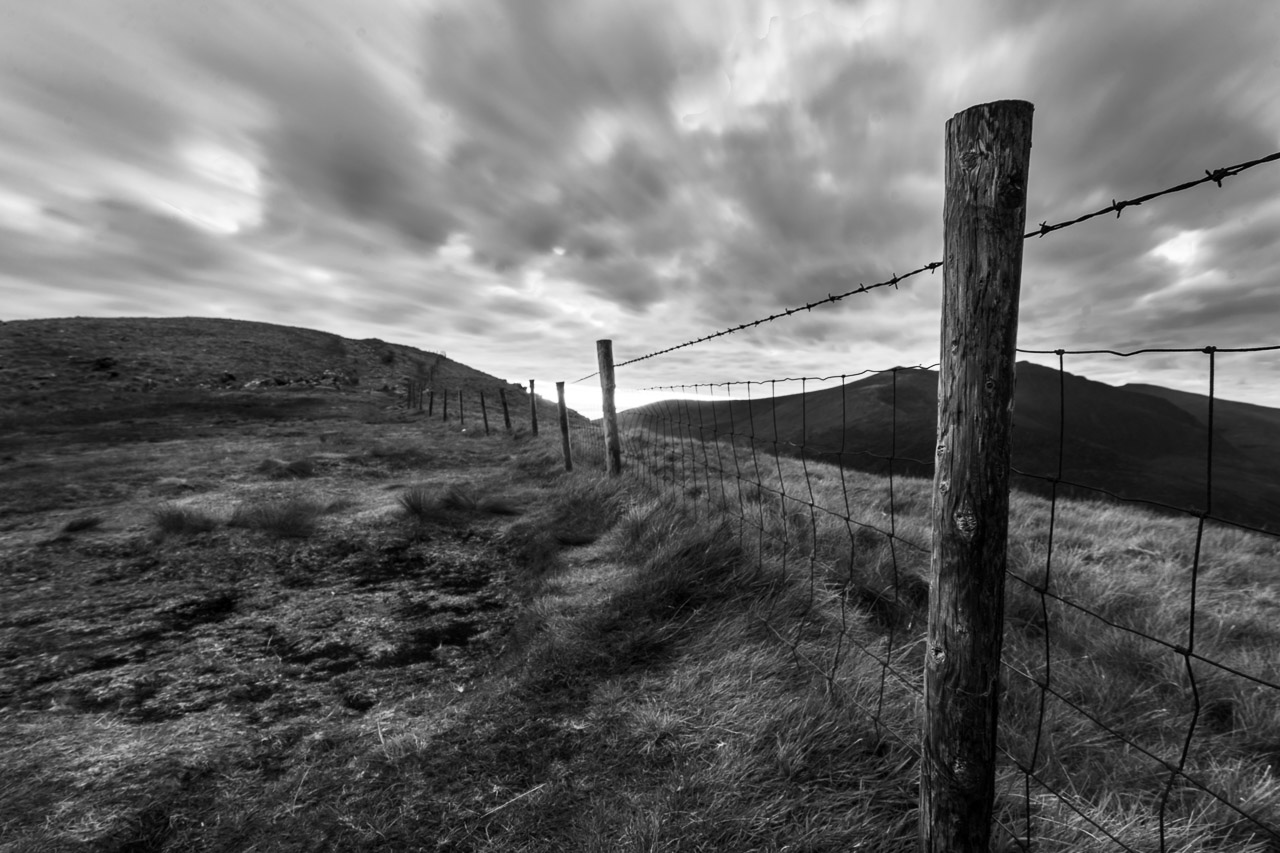 Fencing in the hills