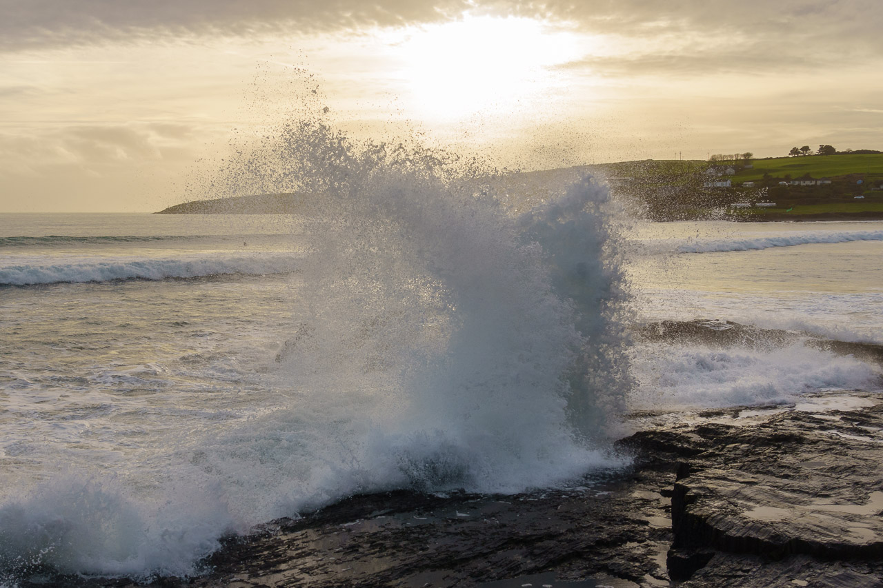 Waves Collide