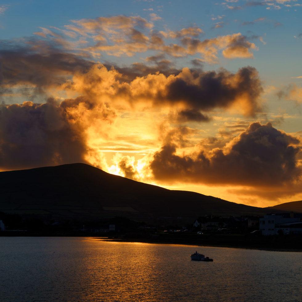 Setting Sun over Dingle