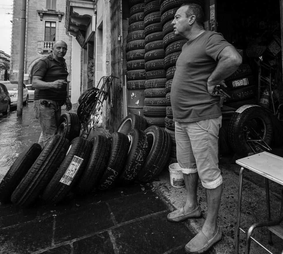 Where do you go for tyres in Malta?