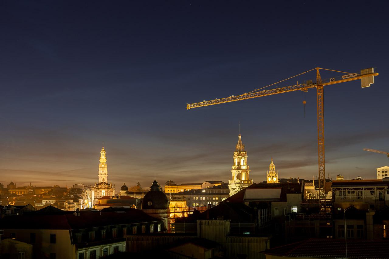 Construction in Porto