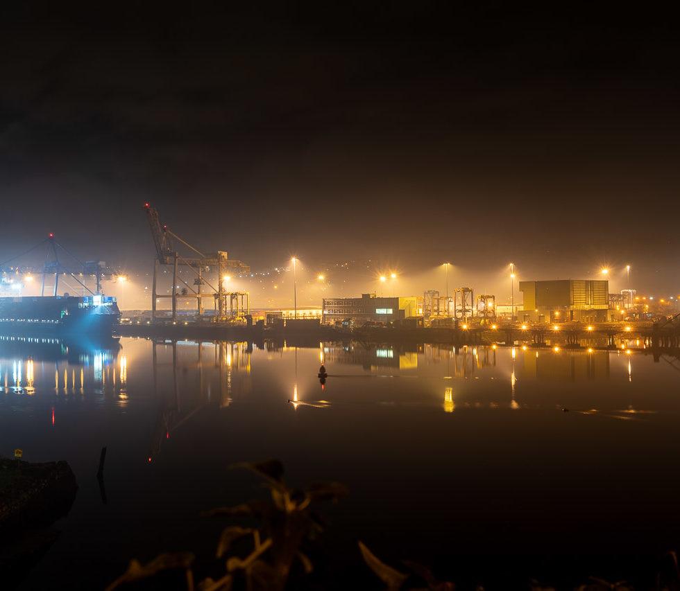 Tivoli Docks on the Lee