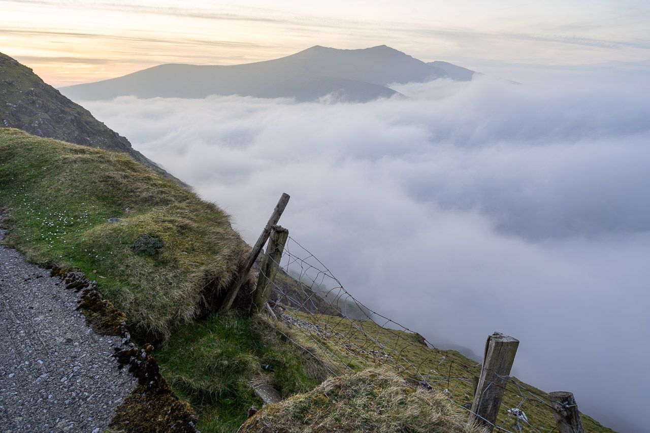 Fog in the Conor Pass