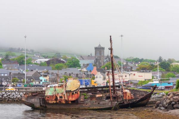 A shipwreck in Dingle
