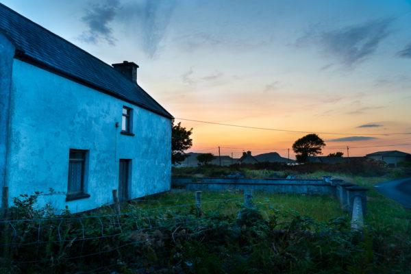 Sun sets on the Dingle Peninsula